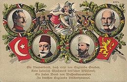 260px-Central Powers monarchs postcard