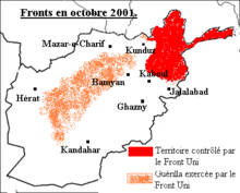 Guerre en Afghanistan (octobre 2001)
