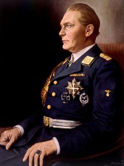 Hermann Goering Portrait