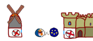 Iberia vs france polandball