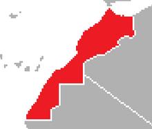 Location of Morocco (Satomi Maiden ~ Third Power)