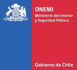 Logo ONEMI - Ministerio del Interior