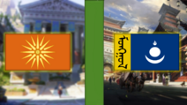 Macedon VS Mongolia (The Sun in the Eternal Sky)