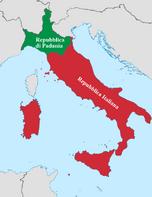 Альтернативная карта Италии