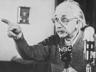 134 Kalter Krieg Einstein aeussert sich 1950 auf NBC zu