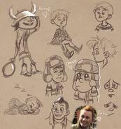 JUL03 - Sketching