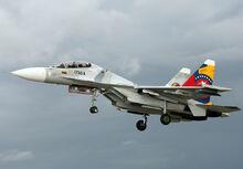 Venezuelan Air Force Sukhoi SU-30MK2 AADPR