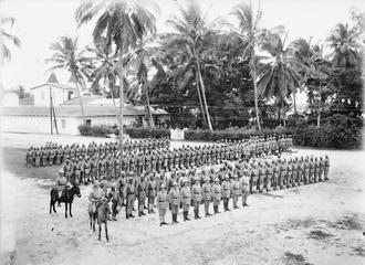 Прусские колониальные войска