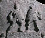 Gladiatrix relief