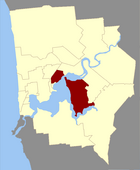 Map of Perth County