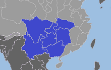 Map of South China (GNW)
