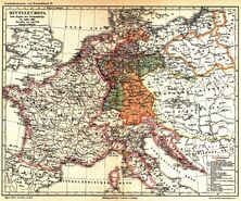 Mitteleuropa vor dem Beginn der Freiheitskriege 1813