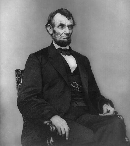 File:Abraham Lincoln seated, Feb 9, 1864.jpg