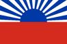 Bandera de Japón como Oblast, Krai (Territorio) u Oblast Autónomo de Rusia