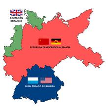 Mapa de la Ocupación de Alemania (TLA)