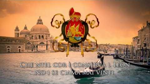 "National Anthem of the Venetian Republic ""Inno Nasionale Veneto"""