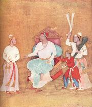 Portrait of Burhan Nizam Shah II