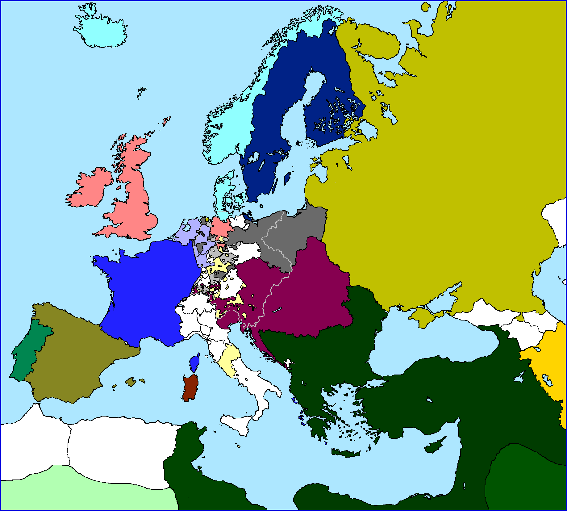 map of europe 1802 vive la rvolutionpng
