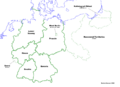 Map of Germany (Russian America)