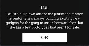 IzeI's information