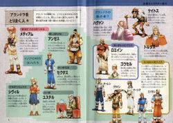 Alundra characters