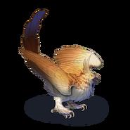 Snoweaglechickgoldeneagle