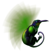 Hummingwhutgreensided