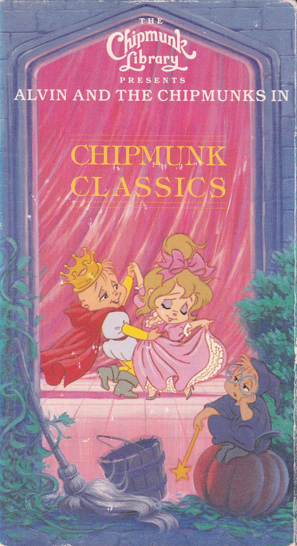chipmunk classics  vhs