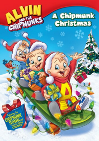 A Chipmunk Christmas 2008 DVD Front Cover