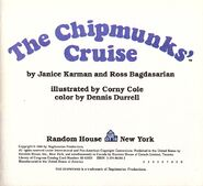 The Chipmunks' Cruise Title Page