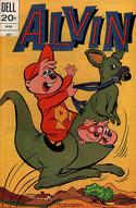 Alvin Dell Comic July 1973