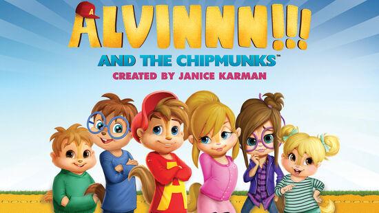 ALVINNN!!! and The Chipmunks Group Look