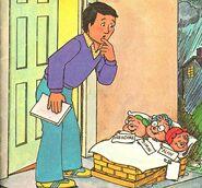 The Chipmunk Story Illustration 1