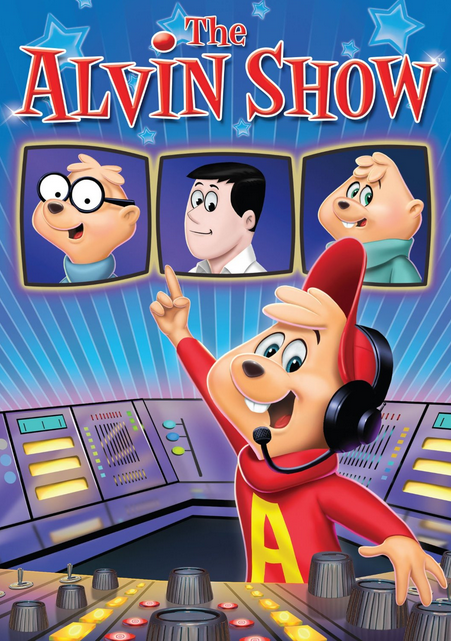 The Alvin Show DVD Front Cover