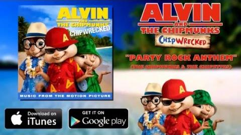 The Chipmunks & The Chipettes - Party Rock Anthem HD
