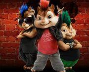 Chipmunk Rockstars
