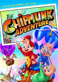 The Chipmunk Adventure 2014 DVD Cover