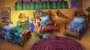 The Chipmunks' Bedroom in The Chipmunk Adventure
