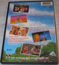 Mini-munks DVD Back Cover