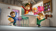 Chipmunks and Chipettes Suprise