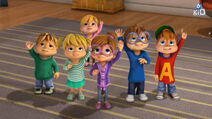 The Chipmunks and The Chipettes in The Ceremony