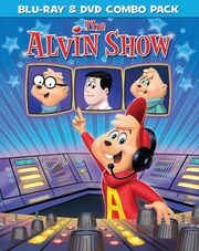 The Alvin Show Blu-Ray & DVD Combo Pack Cover