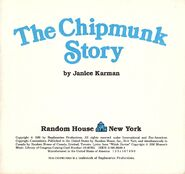 The Chipmunk Story Title Page