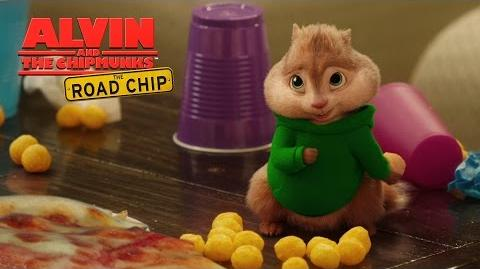 "Alvin and the Chipmunks The Road Chip ""Pizza Toots"" Lyric Video HD 20th Century FOX"