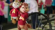 Alvin shows off his prize