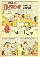 Clyde Crashcup Dell Comic 2 - Invents the Camel