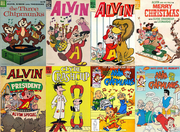 Compilation of Alvin and the Chipmunks Comics