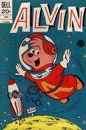 Alvin Dell Comic October 1973
