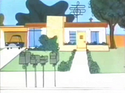 The Seville House in The Alvin Show