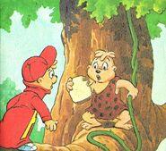 Alvin Goes Wild Illustration 1